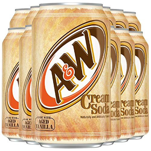 A&W Root Beer® - CREAM SODA (355ml Dose) [12er Pack] inkl. 3,00 € DPG Pfand