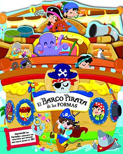 El Barco Pirata de las Formas (Libro en 3D para Aprender)