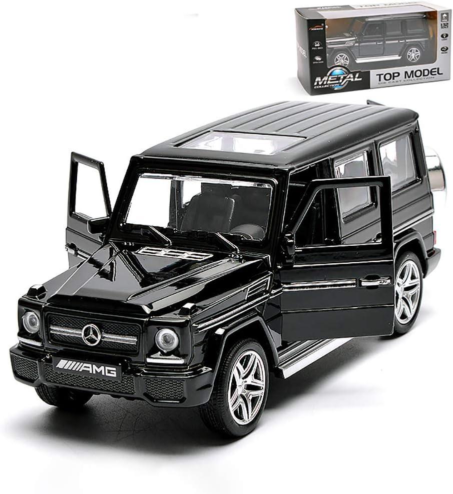 ZXYSR Maqueta Coche Mercedes-Benz G-Clase G65 Coleccionables Modelo Terminado Regalos Modelo A Escala Original 1:32 Coche De Fundici/ón A Presi/ón De Simulaci/ón Est/ática Cuerpo De Metal