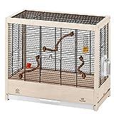 Ferplast Giulietta - Jaula de Madera para pájaros