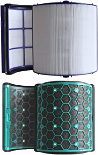 MEGICOT HEPA Filter & Inner Activated Carbon Filter Set Replacement for Dyson Air Purifier TP04 DP04 HP04