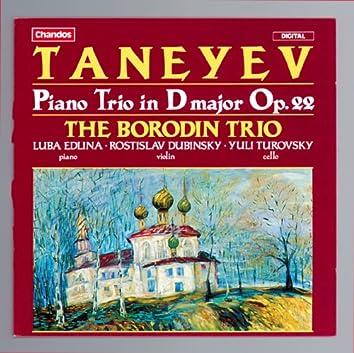 Taneyev: Piano Trio in D major, Op. 22