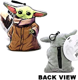 "Star Wars The Child Baby Yoda 3D Shaped Plush Zipper Pull 4"""