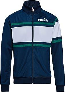 Diadora Men's 80'S Track Jacket, Blue