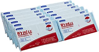 WypAll Colour Coded Cloths,  Blue,  20 Wipers/Pack,  Case of 12 Packs
