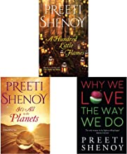 A Hundred Little Flames + It's All in the Planets + Why We Love The Way We Do: 1 (Set of 3 Books)