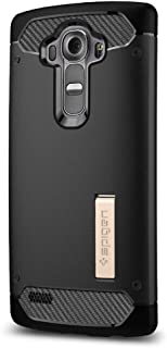 Spigen Rugged Armor Case LG G4 Case with Flexible and Durable Shock Absorption with..