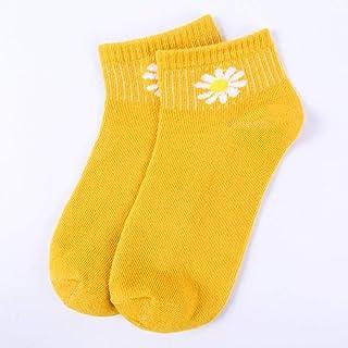 Elifashion Spring Summer Female Boat Socks Low Socks Candy Color Socks Fashion Small Daisy Short Socks Breathable Invisible Sock