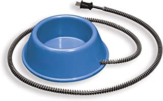 Allied Plastic Heated Pet Bowl, 1-Quart