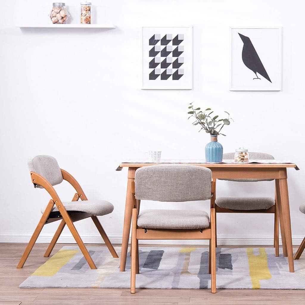 JHZY Fauteuil de loisir Table et chaise rétro en tissu en bois de tissu pour salle à manger, salle à manger, chaise pour hôtel, restaurant (couleur : A11) A4