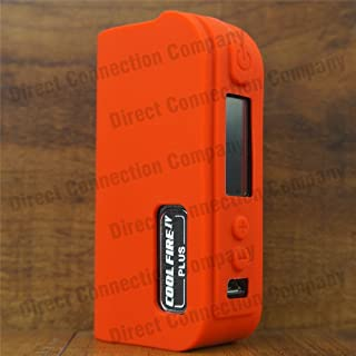 Silicone Case for Cool FIRE IV 4 Plus 70W MODSHIELD BYJOJO Skin Sleeve Cover Wrap (Red)