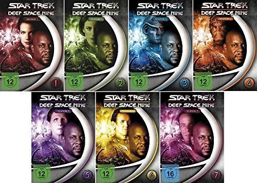 Star Trek -Deep Space Nine/Season-Box 1- 7 im Set - Deutsche Originalware [48 DVDs]