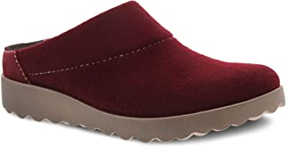 Dansko Women's Lucie Wool Slipper with Outdoor Sole and Arch Support