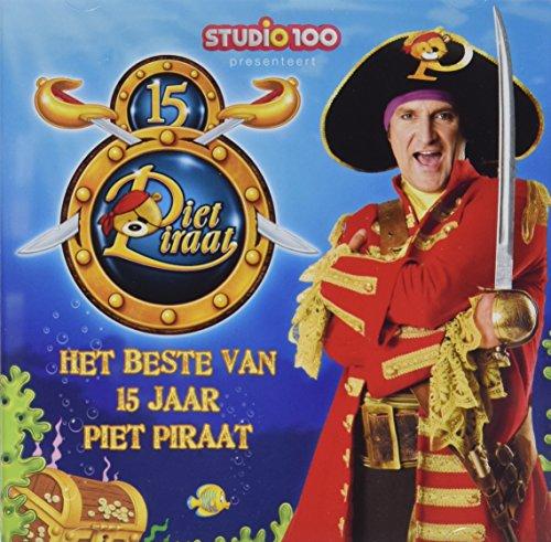 Studio100 F61.A606.020 Cd Piet Piraat: Het Beste van 15 Jaar Piet Piraat, 48-96 mnd