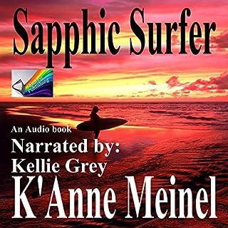 Sapphic Surfer audiobook cover art