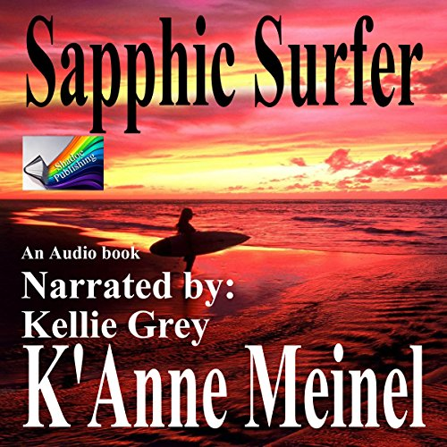 Sapphic Surfer audiobook cover art
