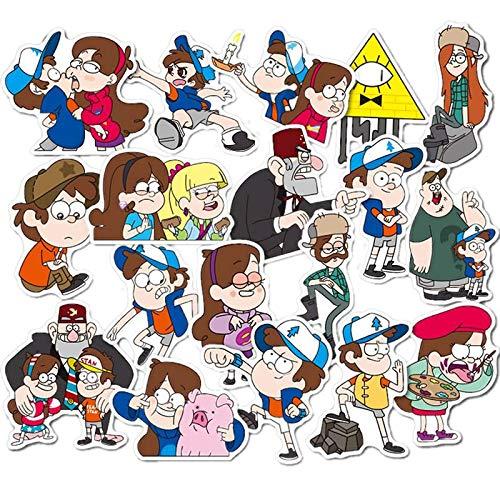 BLOUR Dibujos Animados Anime Gravity Falls Pegatinas...