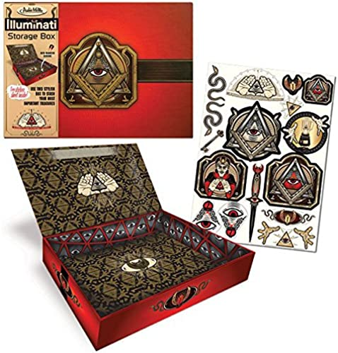 excelentes precios Illuminati Illuminati Illuminati Caja de Almacenamiento  Tu satisfacción es nuestro objetivo