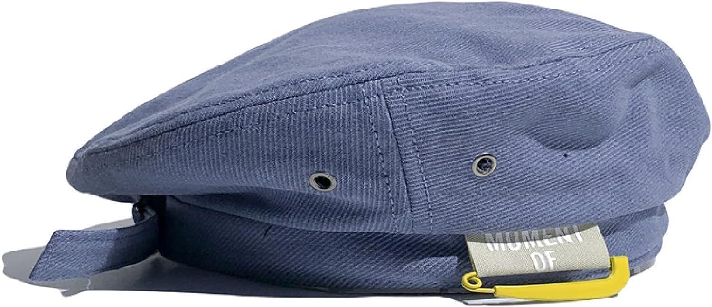 Four Seasons Solid Color All-Match Beret Hats Women Casual Paper Clip Letter Adjustable Flattop Newsboy Caps