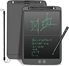 LCD Writing Board with Stylus,YUSHANG 12 Inch Split-Screen Delete LCD Drawing Board,LCD Tablet Writing with Lock Buttons,U...