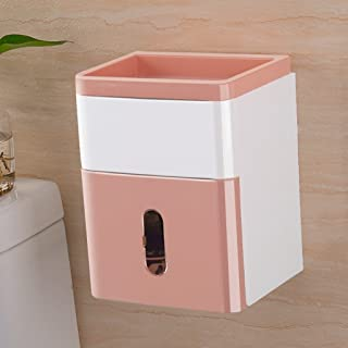 Provided Simple Bathroom Accessories Toilet Paper Holder White Lavatory Closestool Toilet Paper Dispenser Tissue Box Goods Of Every Description Are Available Paper Holders Bathroom Fixtures