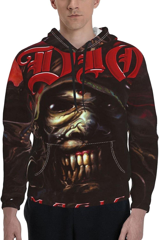 Dio Band Logo Pullover Men's Graphic Luxury goods Unisex Superlatite Sleeve T Hoodie Long