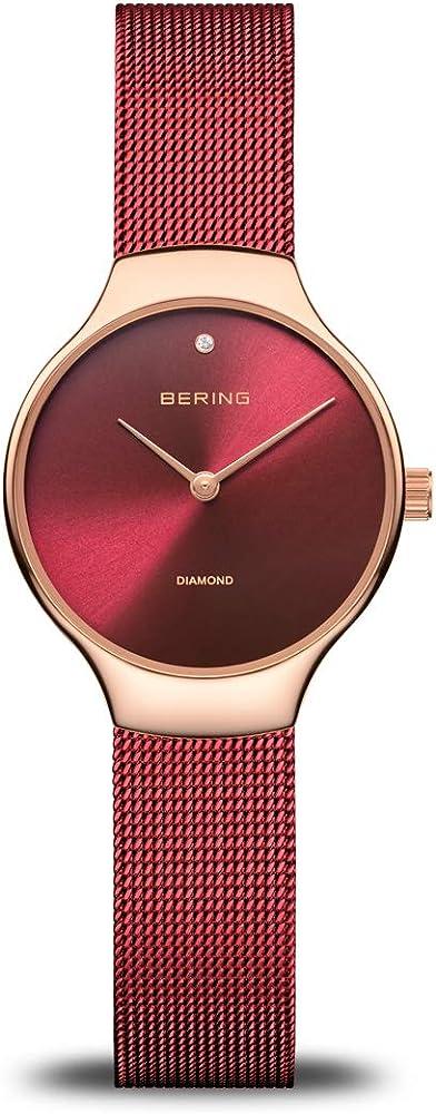Bering orologio analoguico al quarzo per donna,  in acciaio inox 13326-Charity