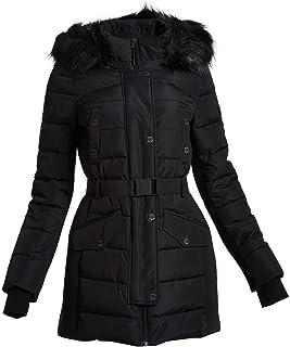 Michael Michael Kors Active Women's Black Scuba Belted Coat