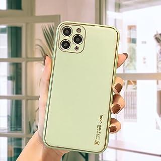 12 Pro Max mobiltelefon skalhudstruktur Aple 11 galvaniserat vanligt läder Huawei mate 40 RS skyddsfodral, gelgummi heltäc...