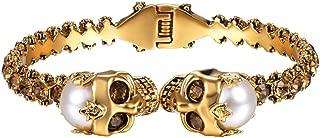 Best 18k gold skull bracelet Reviews