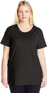 Women's Plus-Size Short Sleeve Crew Neck Tee
