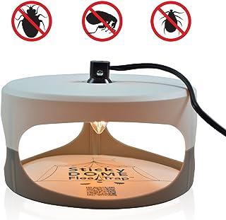 ASPECTEK-Trampa Sticky Dome para Pulgas s con Dos Discos Adhesivos incluidos. Inodoro, No Venenoso. Seguro para Niños y Mascotas.