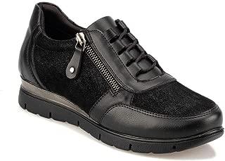 TRV920063 Siyah Kadın Sneaker Ayakkabı