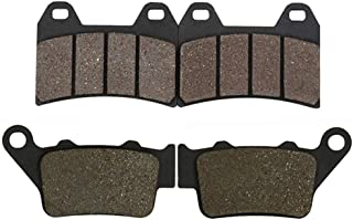 Motorcycle Front And Rear Brake Pads For Bmw Street Bikes G 650 G650 Xmoto 2007 2008 (Front And Rear)
