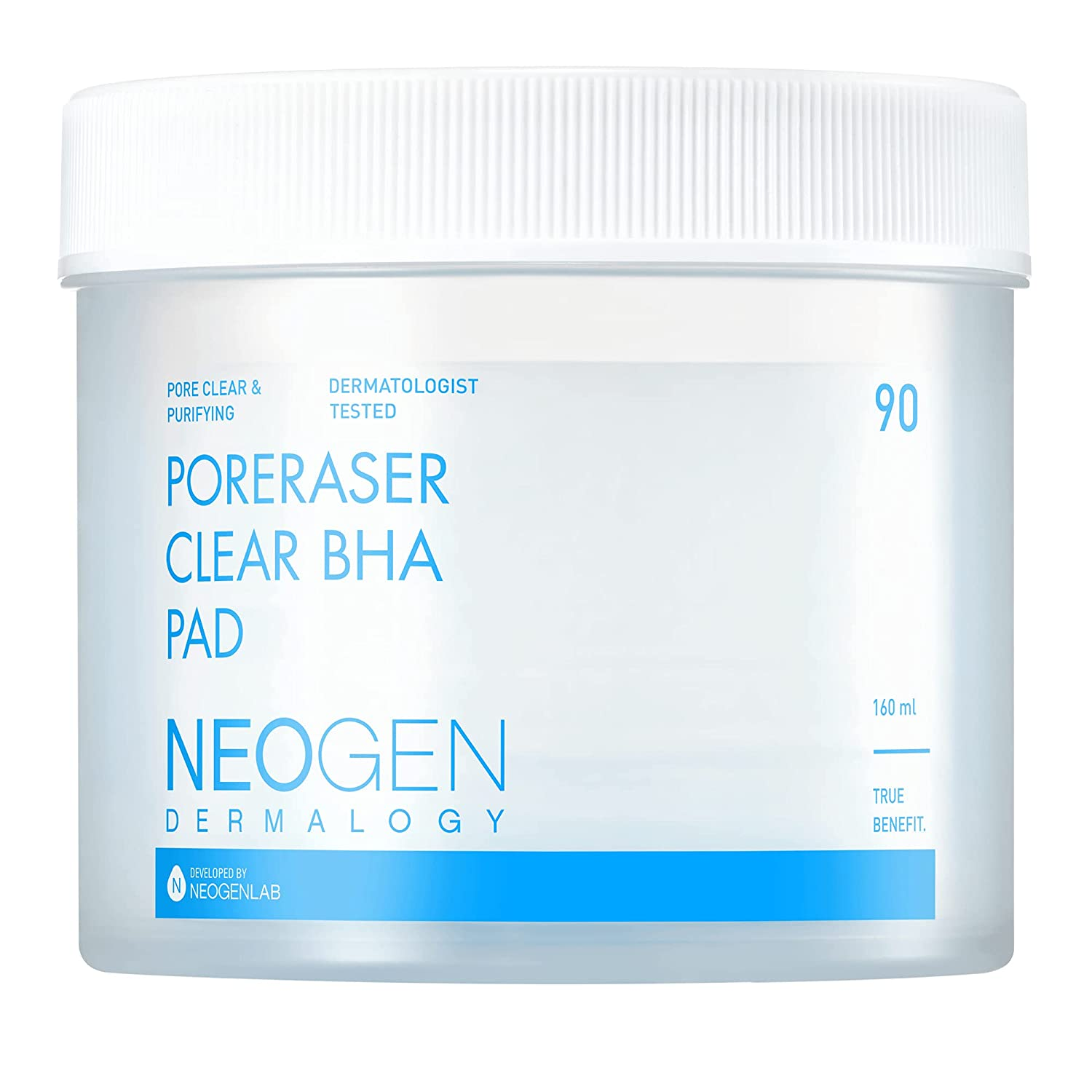 DERMALOGY by NEOGENLAB PORERASER CLEAR BHA 90 Now free shipping Outstanding PAD PADS 160ml