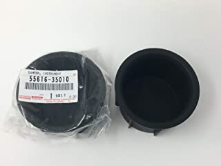 TOYOTA 2007-2014 FJ CUISER Genuine Console Cup Holder Insert Set of 2 55616-35010 OEM