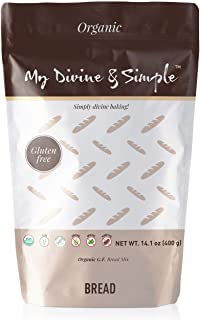 Organic Gluten Free Bread Mix Bread Mix for Baking by My Divine & Simple