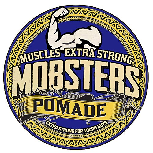 Mobsters Hair Pomade Haarwachs auf Wasserbasis, mattes Finish, groß, 150 g Dose Special Edition