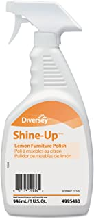 -- Shine-Up Furniture Cleaner, Lemon Scent, 32 oz, Trigger Spray Bottle, 12/Carton