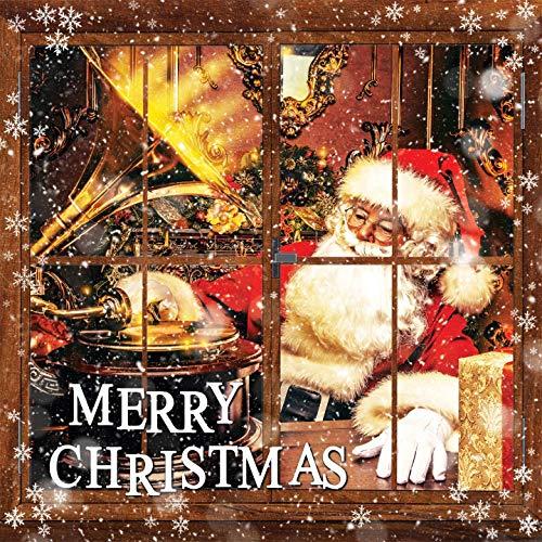 Merry Christmas Vinyle Coloré - version Rouge (LP Remasterisé) Louis Armstrong, Mahalia Jackson, Frank Sinatra, Miles Davis Sextet