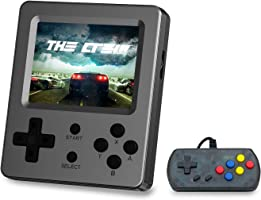 BAORUITENG Handheld Game Console, Retro Mini Game Player with 520 Classical FC Games 3-Inch Color Screen Support for...