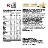Dymatize Super Mass Gainer Protein Powder, 1280 Calories & 52g Protein, 10.7g BCAAs, Mixes Easily,...