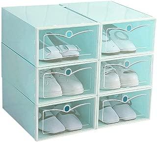 FanRen Foldable Shoes Box Transparent Storage Shoe Box Drawer Organizer Household DIY Shoe Box Drawer Divider Home Storage,34x24cm,SG