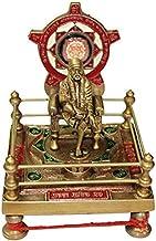 Shri Sai Baba Yantra Chowki in Brass