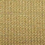 Floordirekt 15 x Teppich Stufenmatten Treppenstufen | 100% Sisal | wohnlichen Farben | rutschsicher für Mensch und Tier (Maße ca. 64 x 23,5 cm) (Natur) - 2