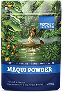 Power Superfoods Organic Maqui Powder, 100g