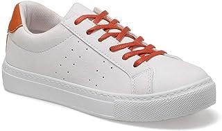 CS20016 Kiremit Kadın Sneaker Ayakkabı