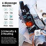 Zoom IMG-1 massaggiatore per gambe compressione dell