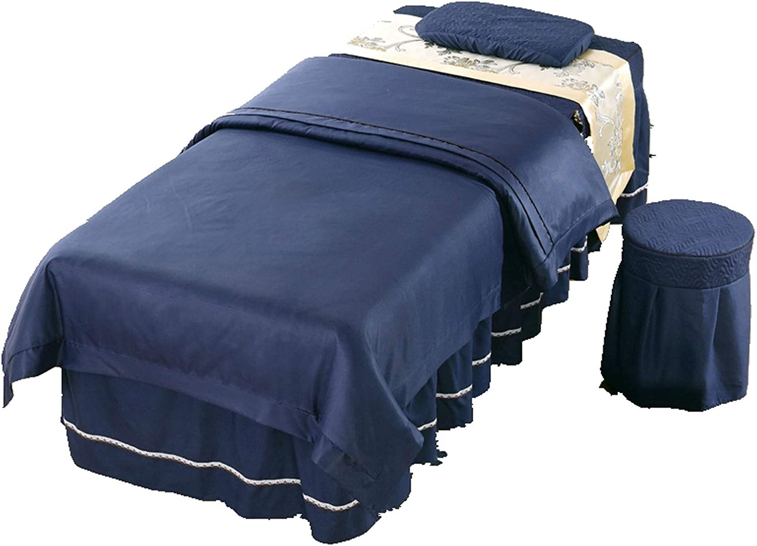 ZHANGYN Massage Table Sheet Al sold out. Sets Beauty Spa Cover Bed Be Import