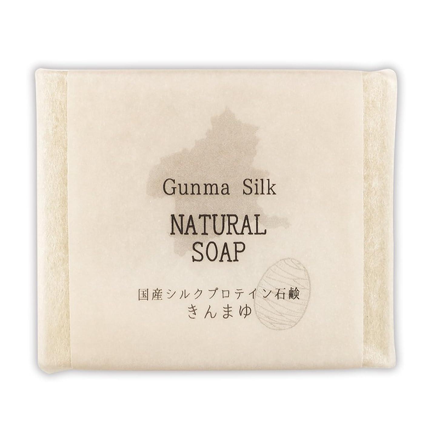 注文悩むミリメートルBN 国産シルクプロテイン石鹸 きんまゆ SKS-04 (1個)